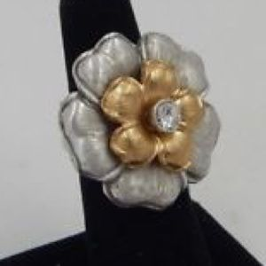NWT Brighton Retro Garden Ring sz 7